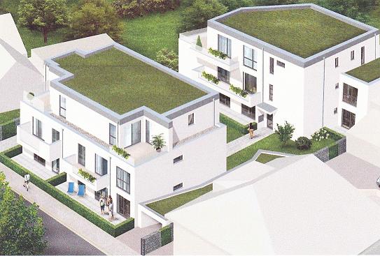 NEUBAU: 2-Zimmer DGW mit Dachterrasse und Tiefgaragenstellplatz in Schwetzingen